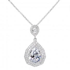 Luxusný zirkónový náhrdelník NH39