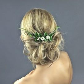 Kvetinový hrebienok do vlasov HK1