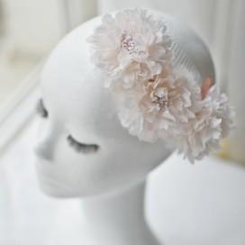 Kvetinová ozdoba do vlasov KARLI