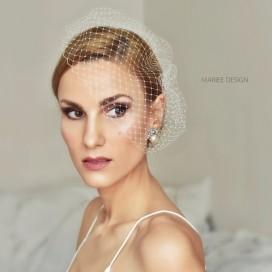 Francúzsky závoj, svadobná sieťka WERA