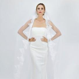Krajkový svadobný závoj ANABEL