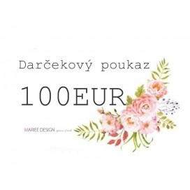 Darčekový poukaz 100EUR