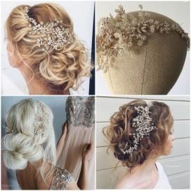 Luxusná ozdoba do vlasov ALEXA