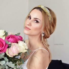 Zlatá tiara LINDA