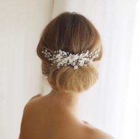 Svadobná ozdoba do vlasov ANITA