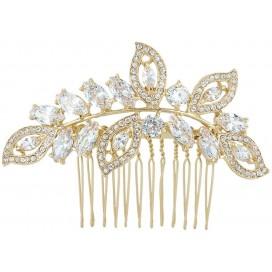Svadobná ozdoba do vlasov FLORENCE GOLD