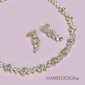 Luxusný set náhrdelník + náušnice NN221