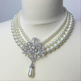 Svadobný/spoločenský náhrdelník NN25