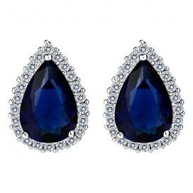 Modré náušnice ELLA BLUE