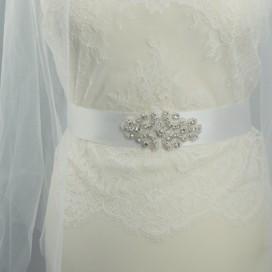 Opasok na svadobné a spoločenské šaty OP441