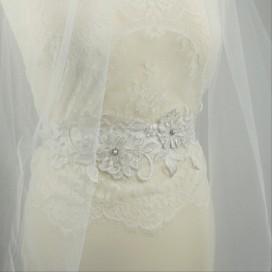 Opasok na svadobné a spoločenské šaty OP012