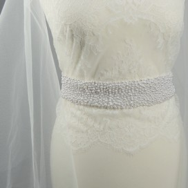 Opasok na svadobné a spoločenské šaty OP2