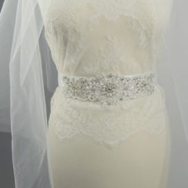 Opasok na svadobné a spoločenské šaty OP5