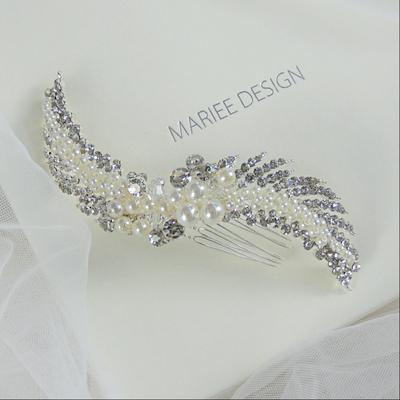 Luxusný svadobný hrebienok do vlasov LH11 17c1d0309c7